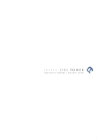 TOYOSU CIEL TOWER COMMUNITY SUPPORT&SECURITY GUIDE